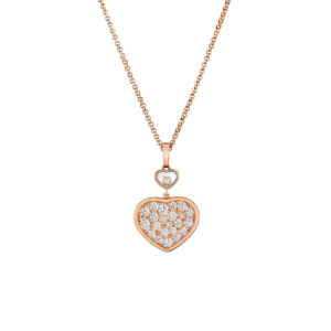 Chopard - HAPPY HEARTS PENDANT RG