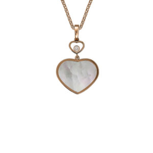 Chopard - HAPPY HEARTS PENDANT RG MOP