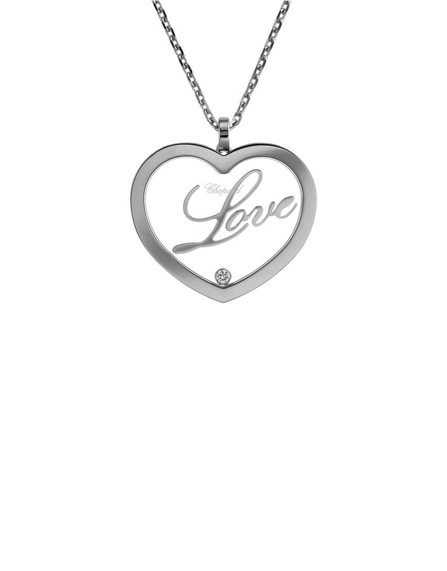 Chopard - HAPPY DIAMONDS WG LOVE PENDANT