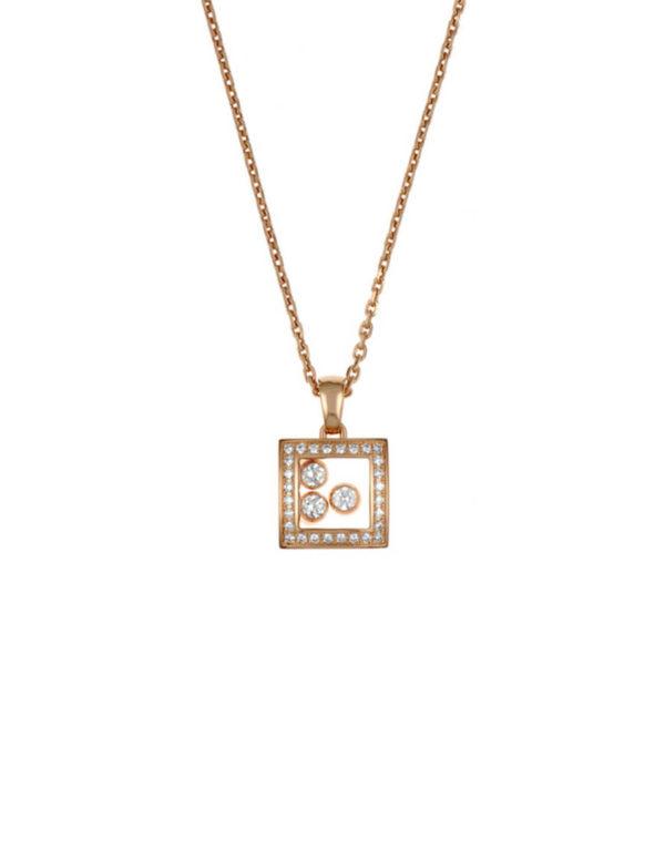 Chopard - HAPPY DIAMONDS RG SQ DIAMS
