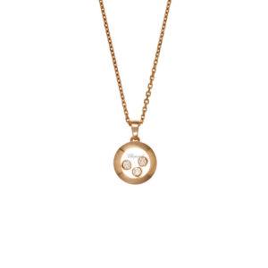 Chopard - HAPPY DIAMONDS PENDANT RG 3DI