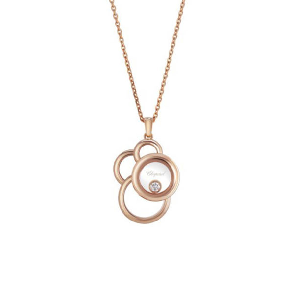 Chopard - PENDANT HAPPY DIAMONDS RG