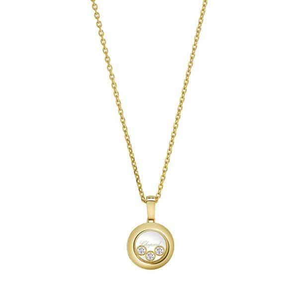 Chopard - PENDANT HAPPY DIAMONDS RG 3MOV DIAMONDS