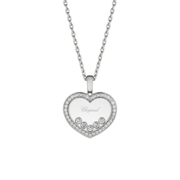 Chopard - HAPPY DIAMONDS PENDANT WG HEART DIAMS
