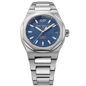 Girard Perregaux - LAUREATO 42MM STEEL C&BR BLUE DIAL