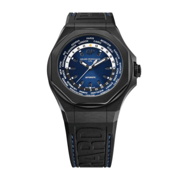 Girard Perregaux - LAUREATO ABSOLUTE 44MM AUTO TITAN BLUE D