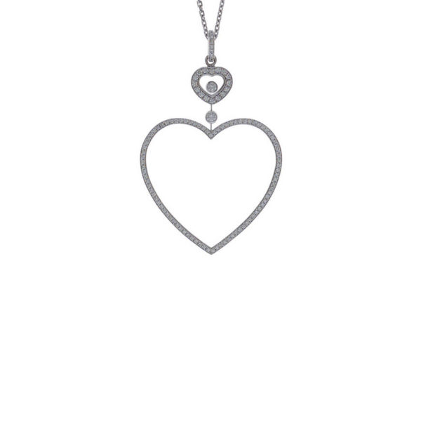 Chopard - HAPPY DIAM WG HEART DIAM PEND