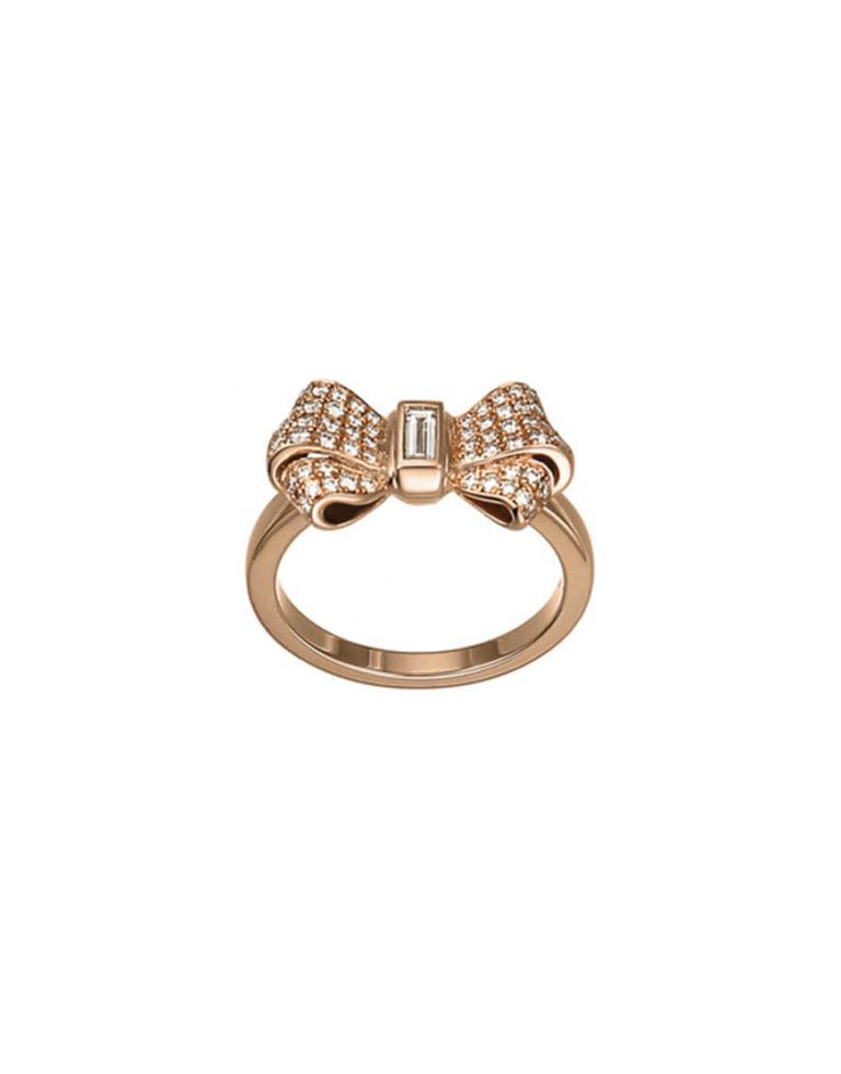 Chopard - BOW RING RG 56 DIAMS & 1BAG