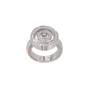 Chopard - HAPPY SPIRIT WG DIAMS RING 55