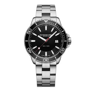 Raymond Weil - TANGO GENTS AUTO BLACK INDEX ST