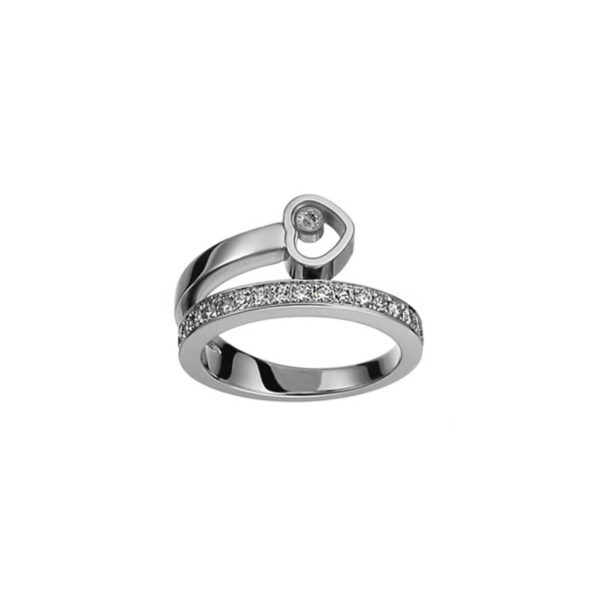Chopard - HAPPY DIAMOND WG RING DIAMS