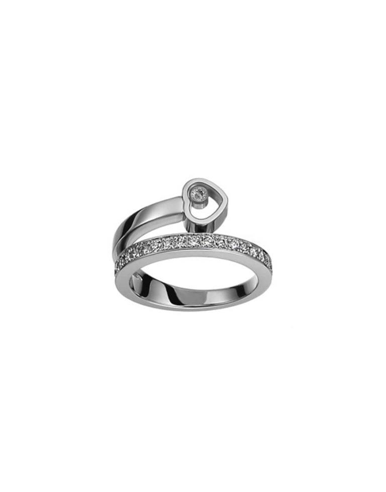 Chopard - HAPPY DIAMOND WG RING DIAMS