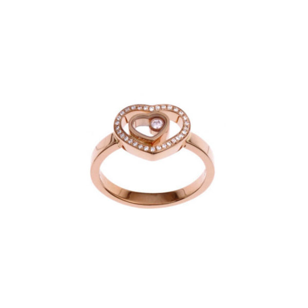 Chopard - HAPPY DIAMOND RG HEART DIAMS R