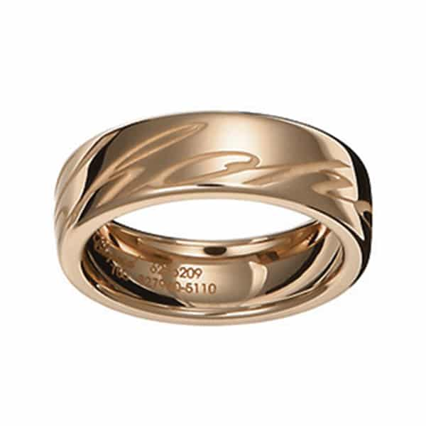 Chopard - RING CHOPARDISSIMO RG SIZE 55, WIDTH 6MM