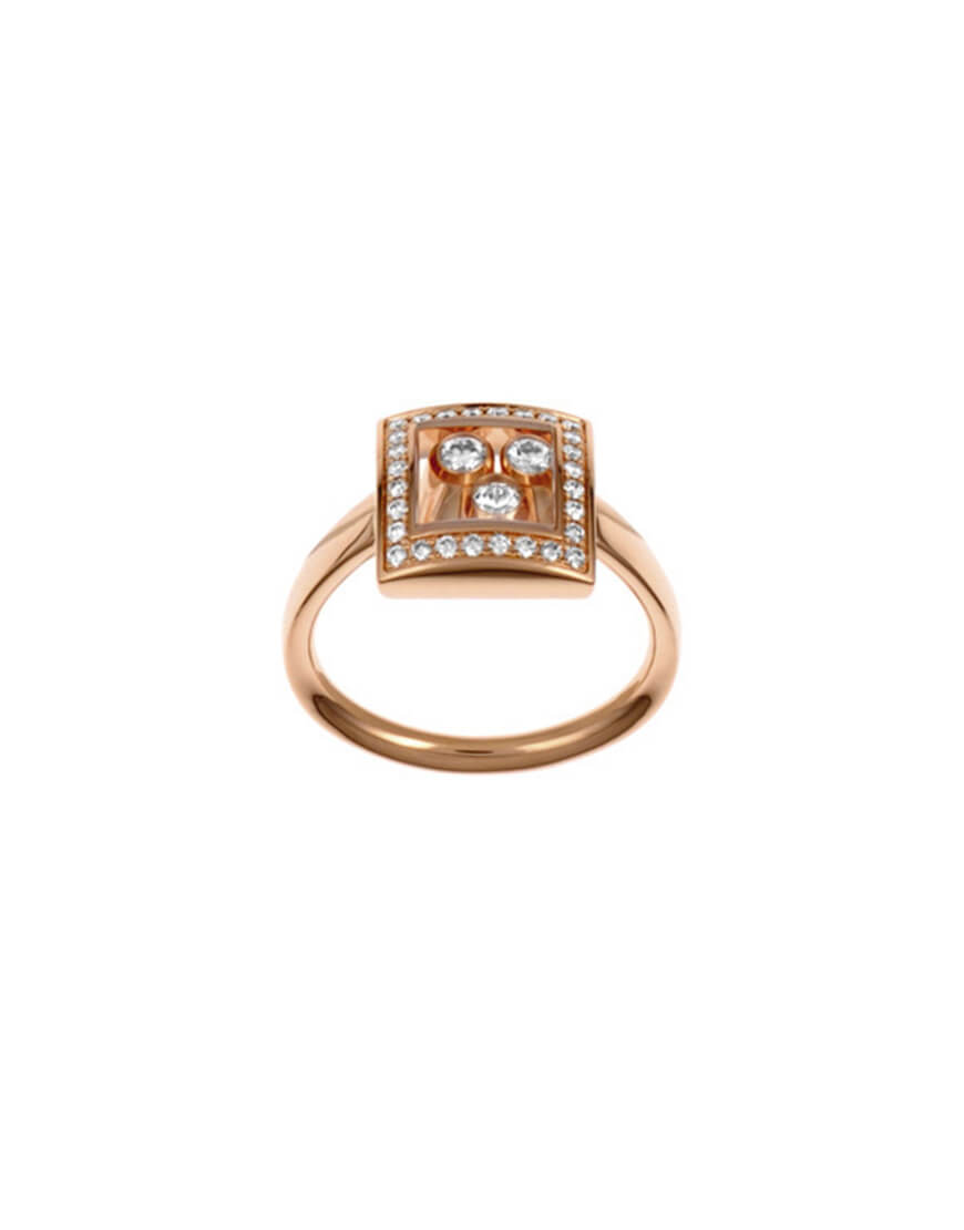 Chopard - HAPPY DIAM RG RING 28D 55