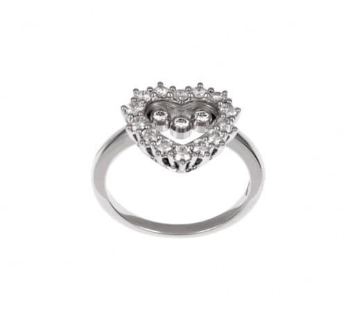 Chopard - HAPPY DIAMONDS RING WG HEART