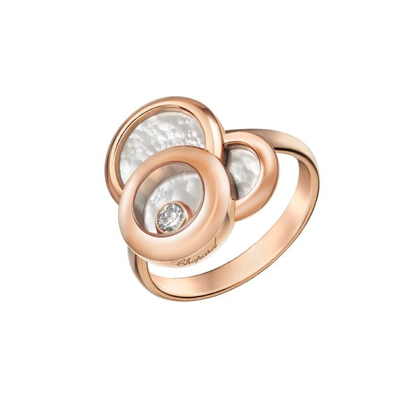 Chopard - RING HAPPY DIAMONDS RD MOP 1 MOV DIAM