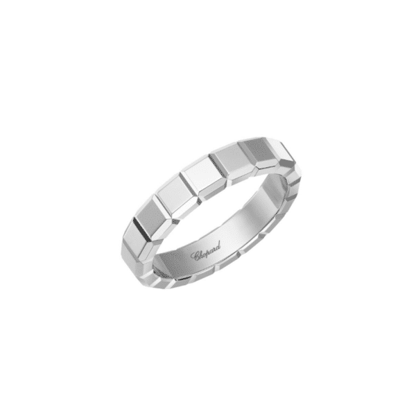 Chopard - ICE CUBE RING WHITE GOLD SIZE 61