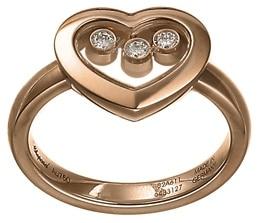 Chopard - RING HAPPY DIAMONDS ROSE GOLD 3MOV DIAMS