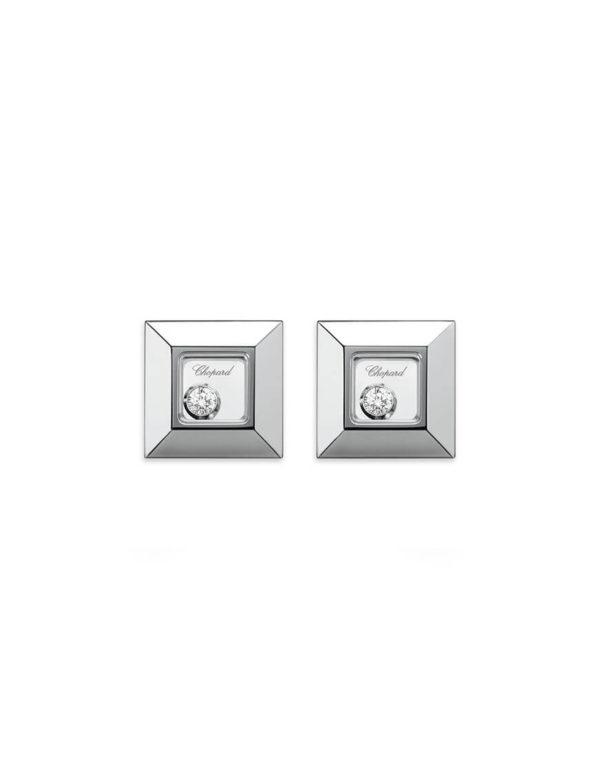 Chopard - HAPPY DIAMOND SQ WG EARRINGS