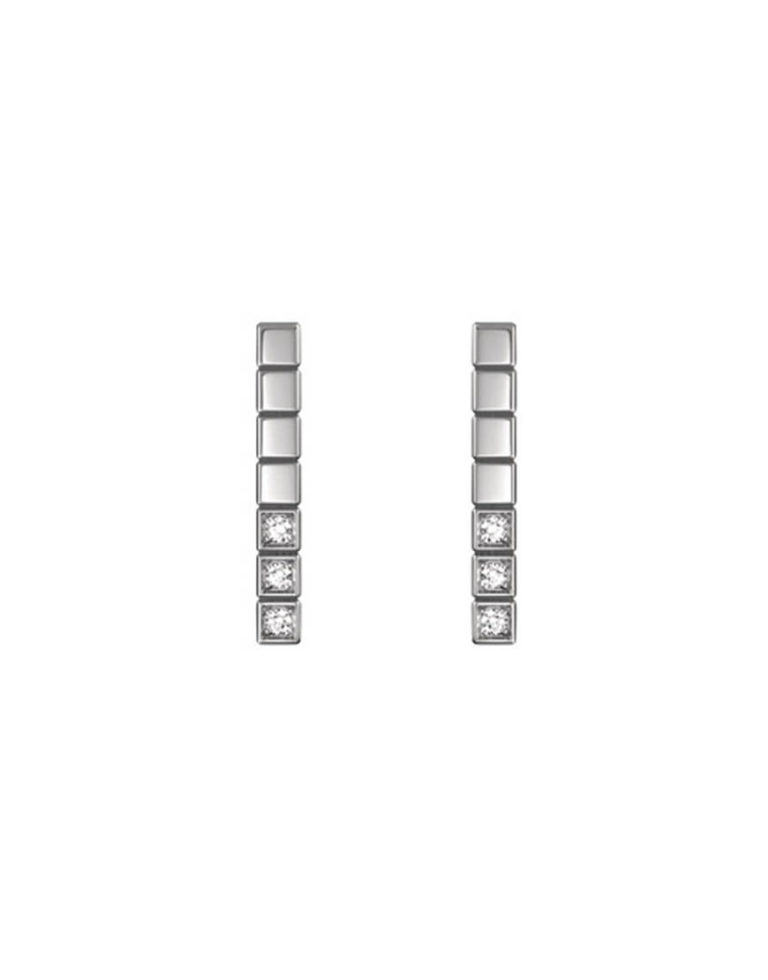 Chopard - EARRINGS  - ICE CUBE PURE WG, 6DIAMS