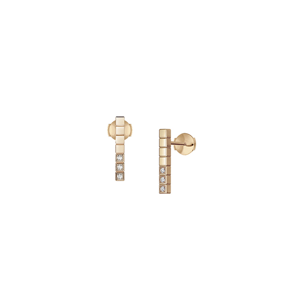 Chopard - EARRINGS ICE CUBE PURE RG