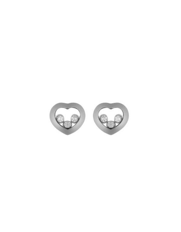 Chopard - HAPPY DIAMONDS EARRINGS WG 6B