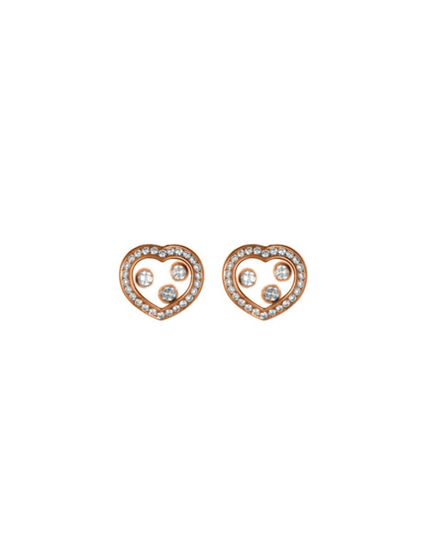 Chopard - HAPPY DIAMS EARRINGS 52 DIAMS