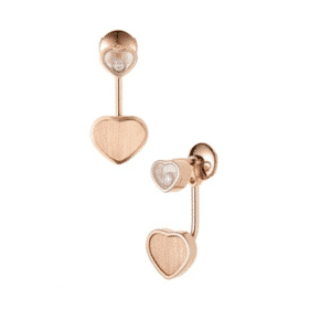 Chopard - EARRINGS HAPPY HEARTS JAMES BOND RG 2G