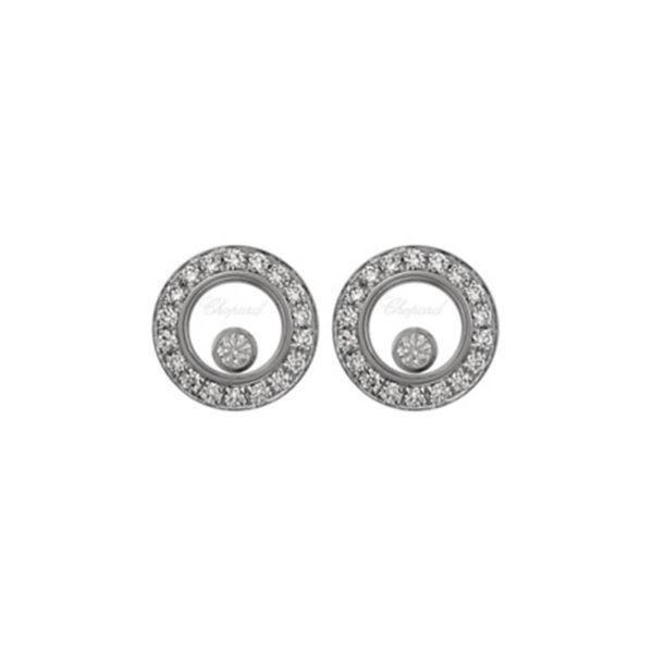 Chopard - HAPPY DIAMONDS EARRINGS WG 36DI 2MOV