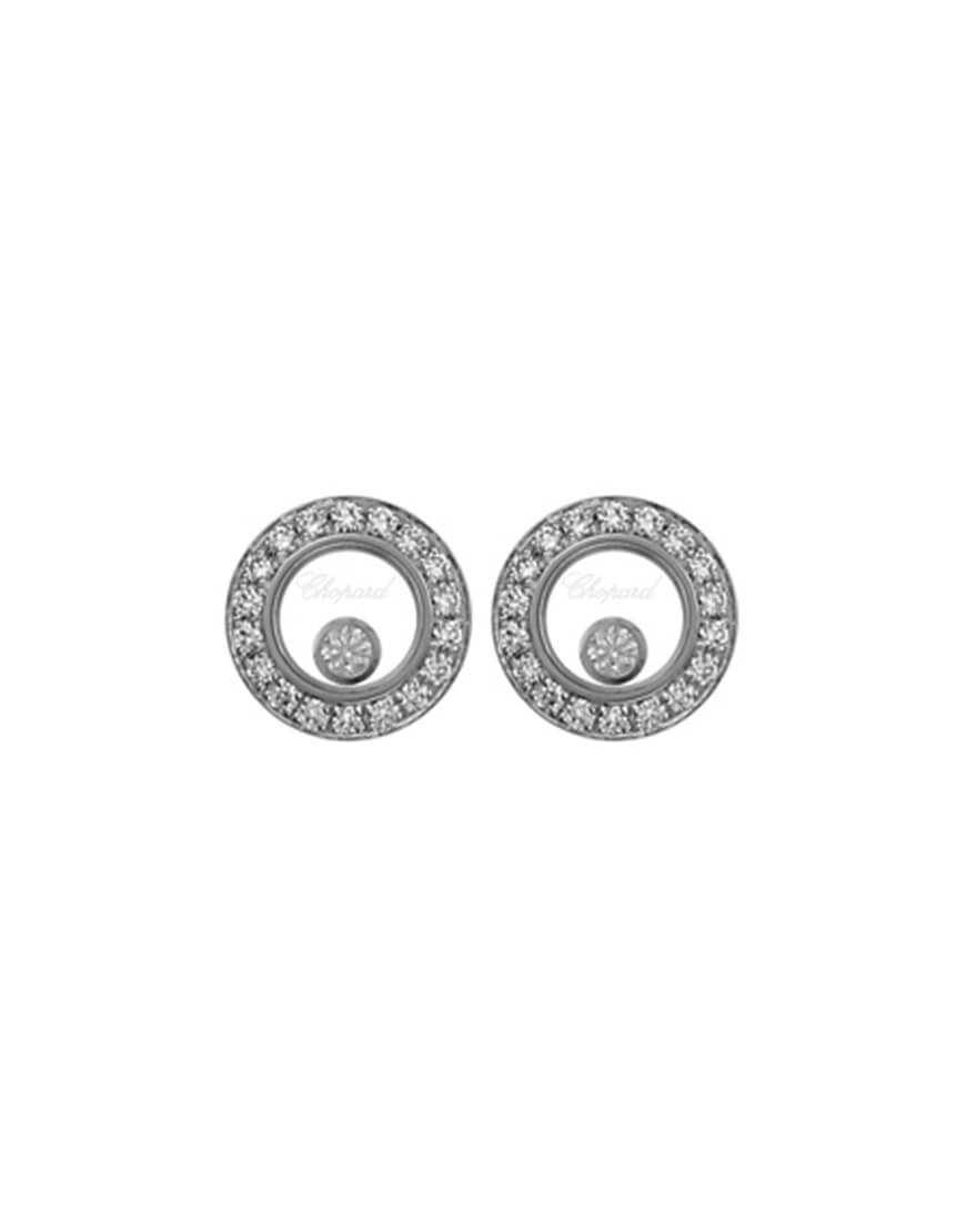 Chopard - HAPPY DIAMONDS EARRINGS WG 36DI 2MOV