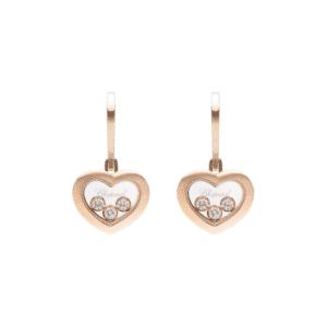 Chopard - EARRINGS HAPPY DIAMONDS RG 6MOV DIAM