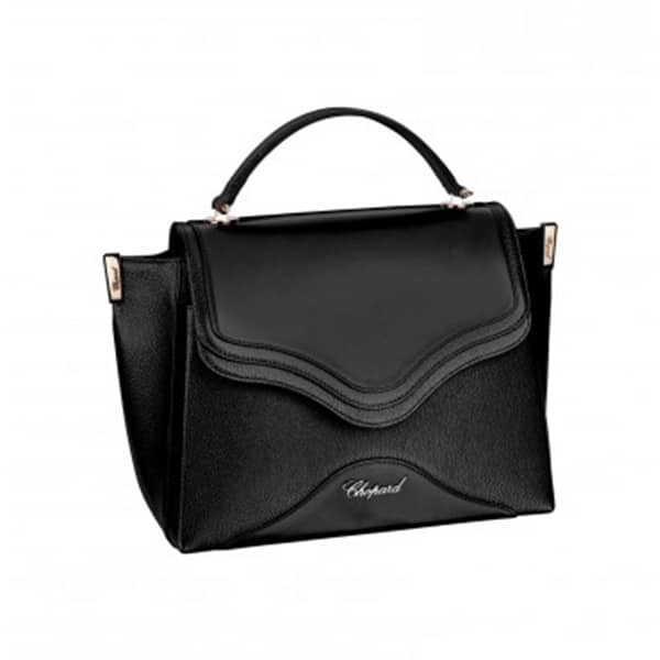 Chopard - IMPERIALE MINI HANDBAG, BLK LEATH RG FIN