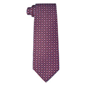 Chopard - TIE FISH 2 CLARET/ NAVY