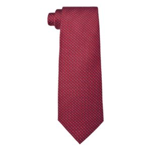 Chopard - TIE QUADRI RED/BLUE TWILL SLK