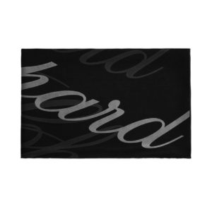 Chopard - SILK CREPE STOLE ICON BLACK