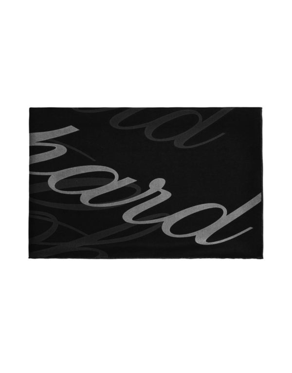 Chopard - SILK CREPE STOLE ICON BLACK