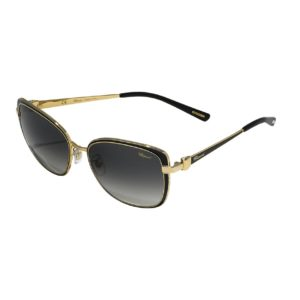 Chopard - SUNGLASSES METAL ROSE FRAME GD/BLK ENAML