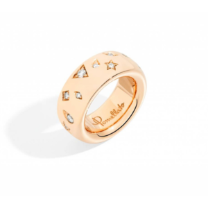 Pomellato - ICONICA RING LARGE RG DIAM
