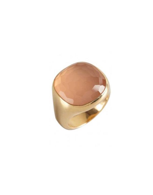 Pomellato - CIPRIA RG PINK QUARTZ RING
