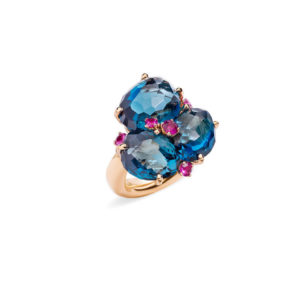 Pomellato - BAHIA RING TOPAZ LONDON PINK