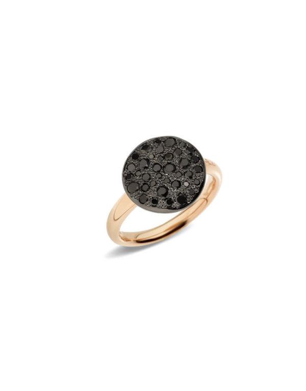 Pomellato - SABBIA RG BLACK DIAMONDS 54