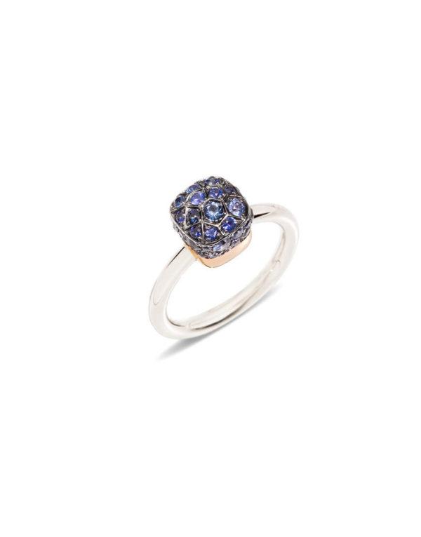 Pomellato - NUDO RING BLUE SAPPHIRES 52