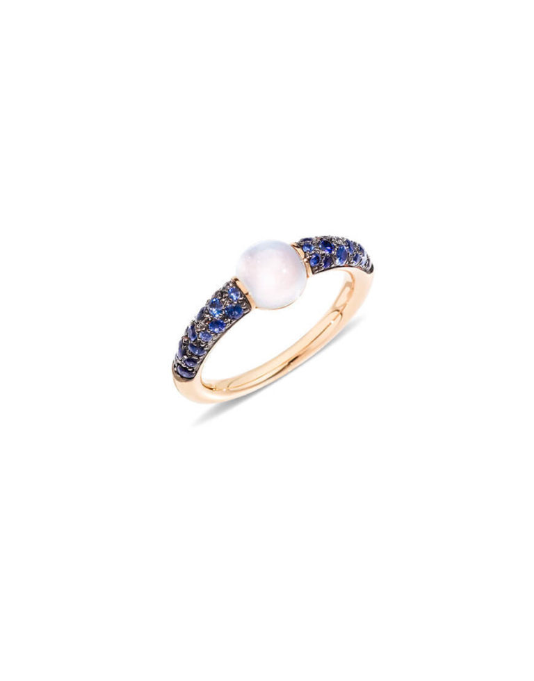 Pomellato - MNM RG M/STONE BLUE SAPPHIRES