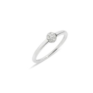 Pomellato - RING SMALL MNM WG ROD. DIAMONDS