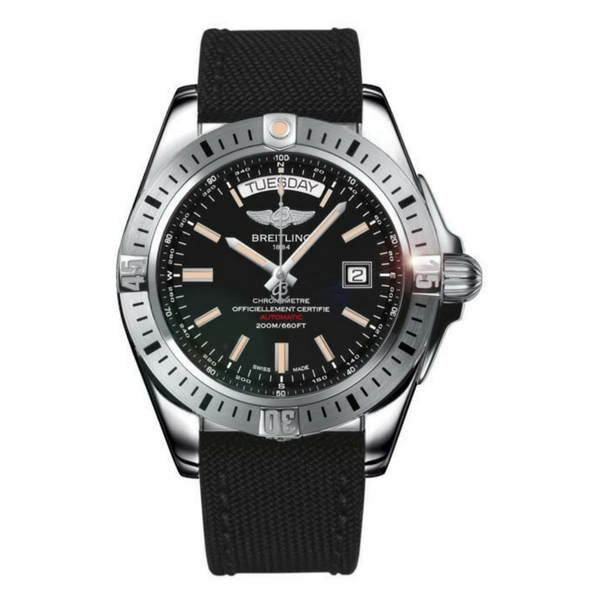 Breitling - GALACTIC  44 AUTO, BLACK DIAL
