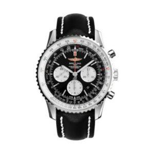 Navitimer Steel black dial
