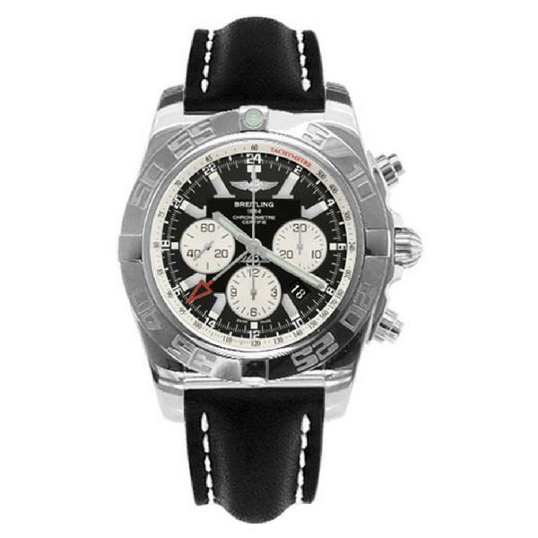 Breitling - CHRONOMAT GMT STEEL BLACK IND