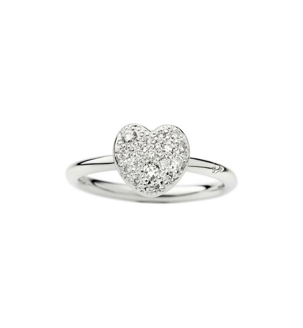 Dodo - WG & DIAMONDS HEART RING