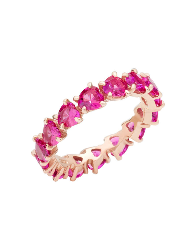 Dodo - 100% AMORE BAND RING RG PINK